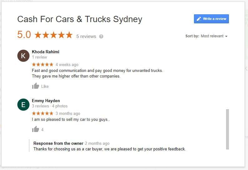 cash for car & truck sydney
