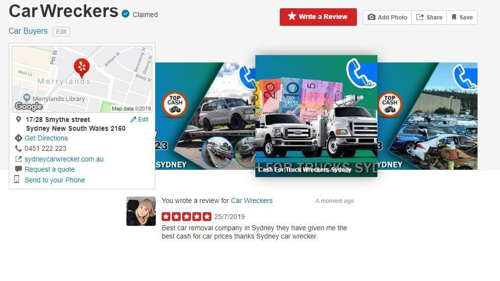 sydney car wrecker review